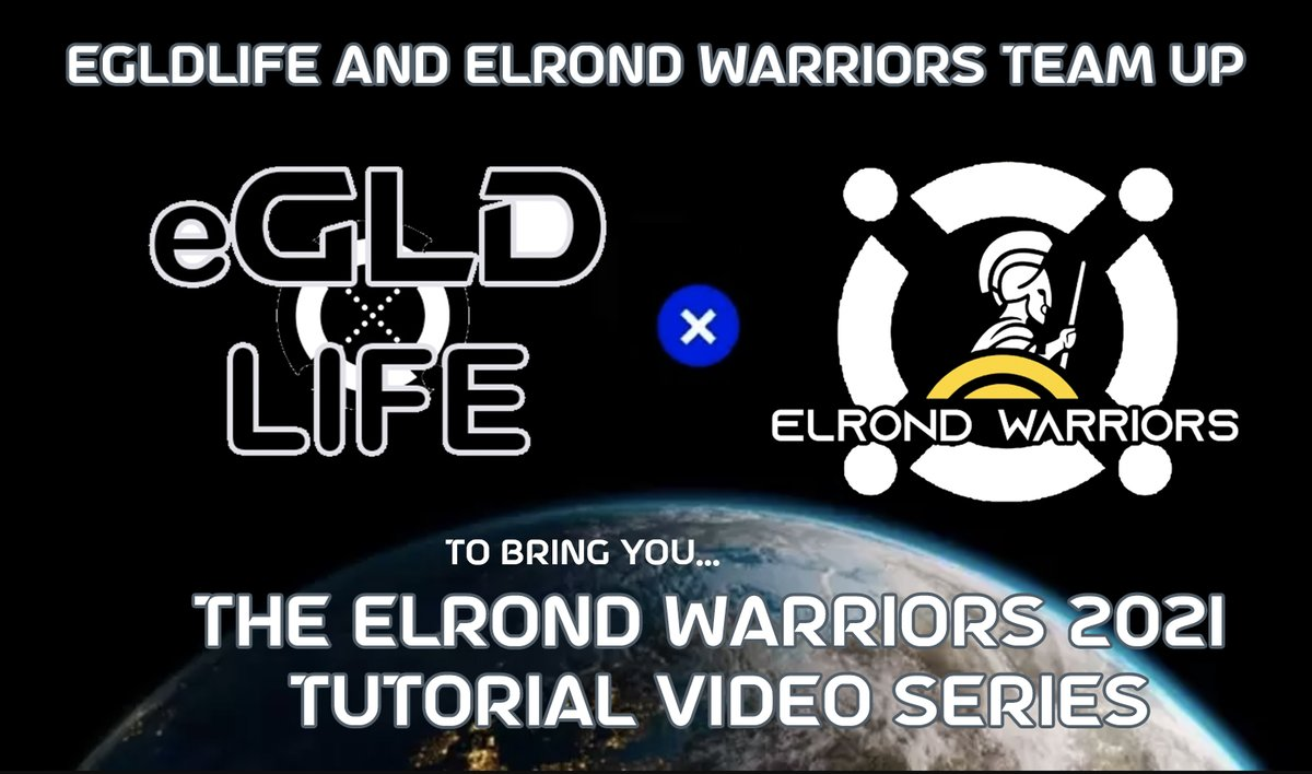 https://t.co/41u2m6PXbF is proud to announce we are teaming up with @ElrondWarriors to bring about a new wave of #Elrond Warriors Tutorials in an effort to better educate the masses on topics such as $egld, $mex, #esdt tokens, #mpad, https://t.co/GxeHCNyWW8 and more! Stay tuned! https://t.co/jV0ZM8SLHk