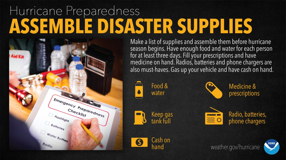 Now is a good time to build or replenish your emergency kit. Take our short quiz below to test your knowledge of kit supplies, then scroll down for list of recommended items. #HurricanePreparednessWeek https://t.co/fPZCuZWsL7