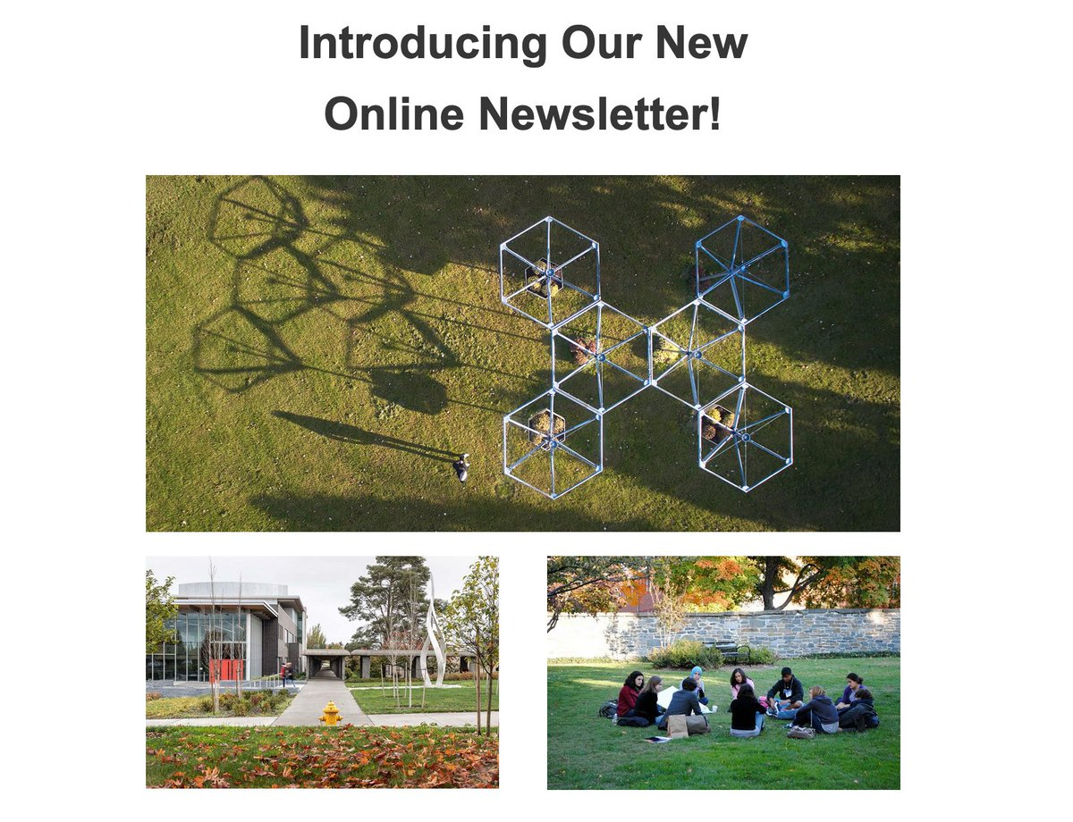 Our triannual #newsletter is now an online publication & can be explored at: https://t.co/O46j35bUvW  Many thanks to our Spring 2021 contributors! Readers, we hope you find these stories and reflections to be inspiring & uplifting.