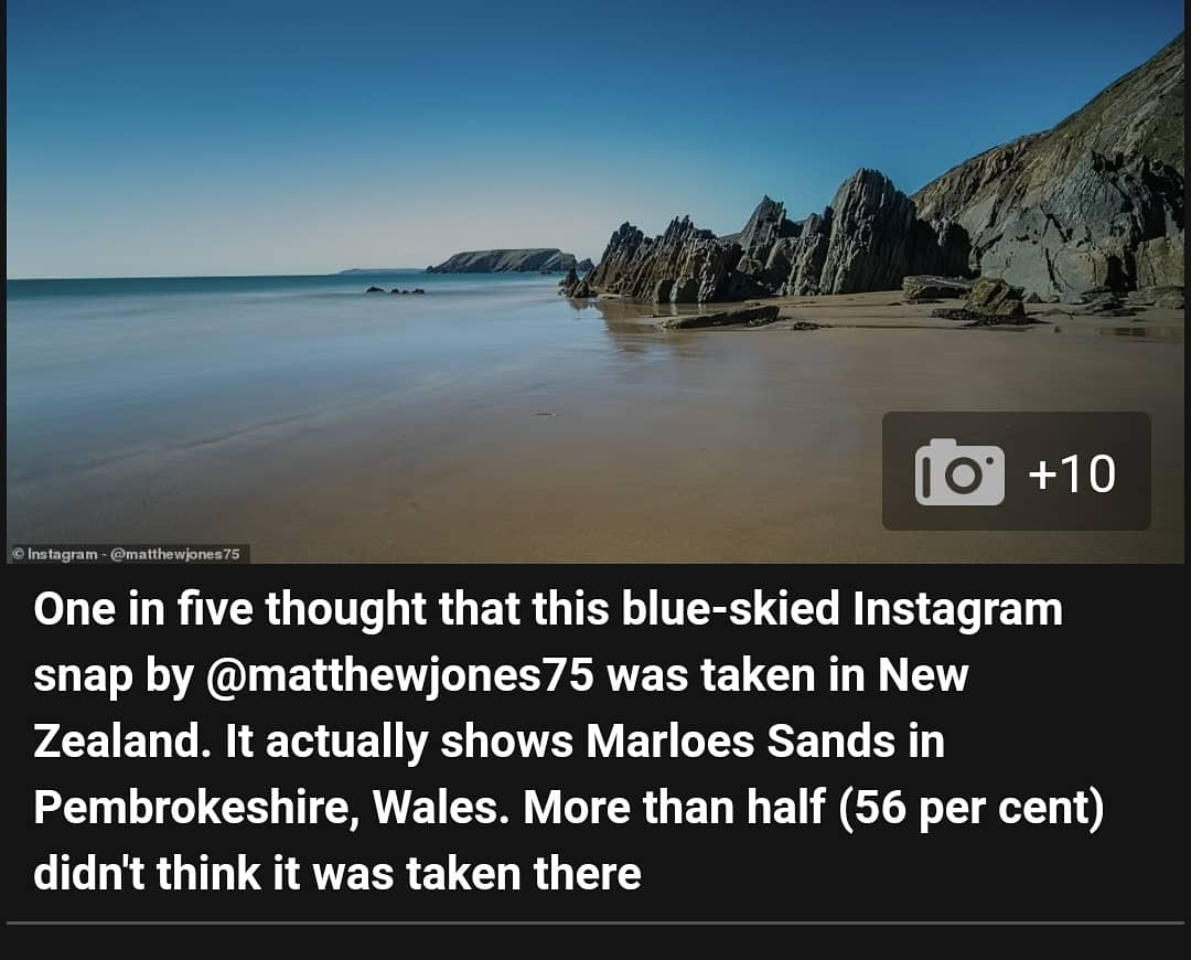 Really pleased to have one of my photos of Marloes Sands Beach, Pembrokeshire featured today in this Daily Mail Travel article on UK beaches, thank you @travelmail 😁❤🏴 @CanonUKandIE @LEEFilters @PembsCoast @visitwales #marloessands #pembrokeshirecoast #wales #cymru https://t.co/izbuW7tviS https://t.co/xiCkI6ZwF9