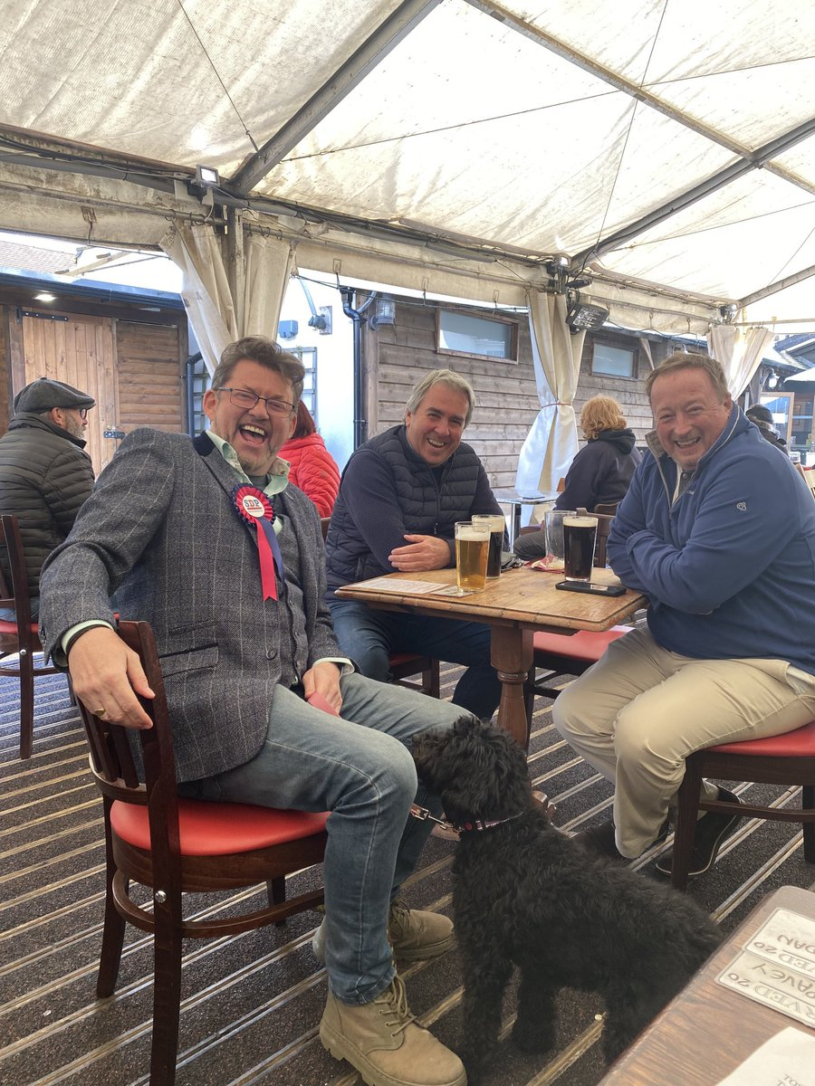 RT @stevekSDP: The Hope in Carshalton is the best proper beer pub in South London! End of campaigning!! https://t.co/vI8nNpC7hb
