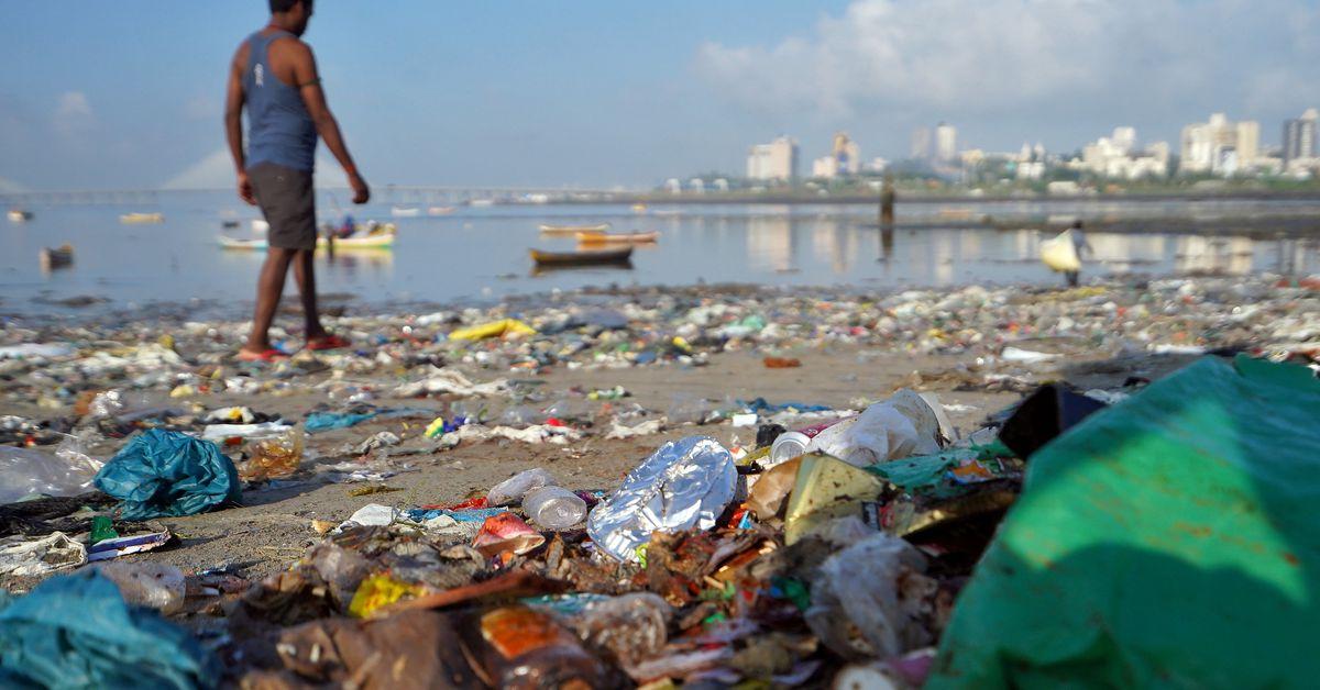 EU seeks India's support for plastics treaty, draft summit statement says https://t.co/7b8hicvNt3 https://t.co/2wWMDMG3wY