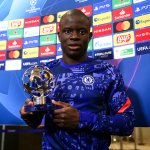 Image for the Tweet beginning: Match aller : 👑 Kanté élu