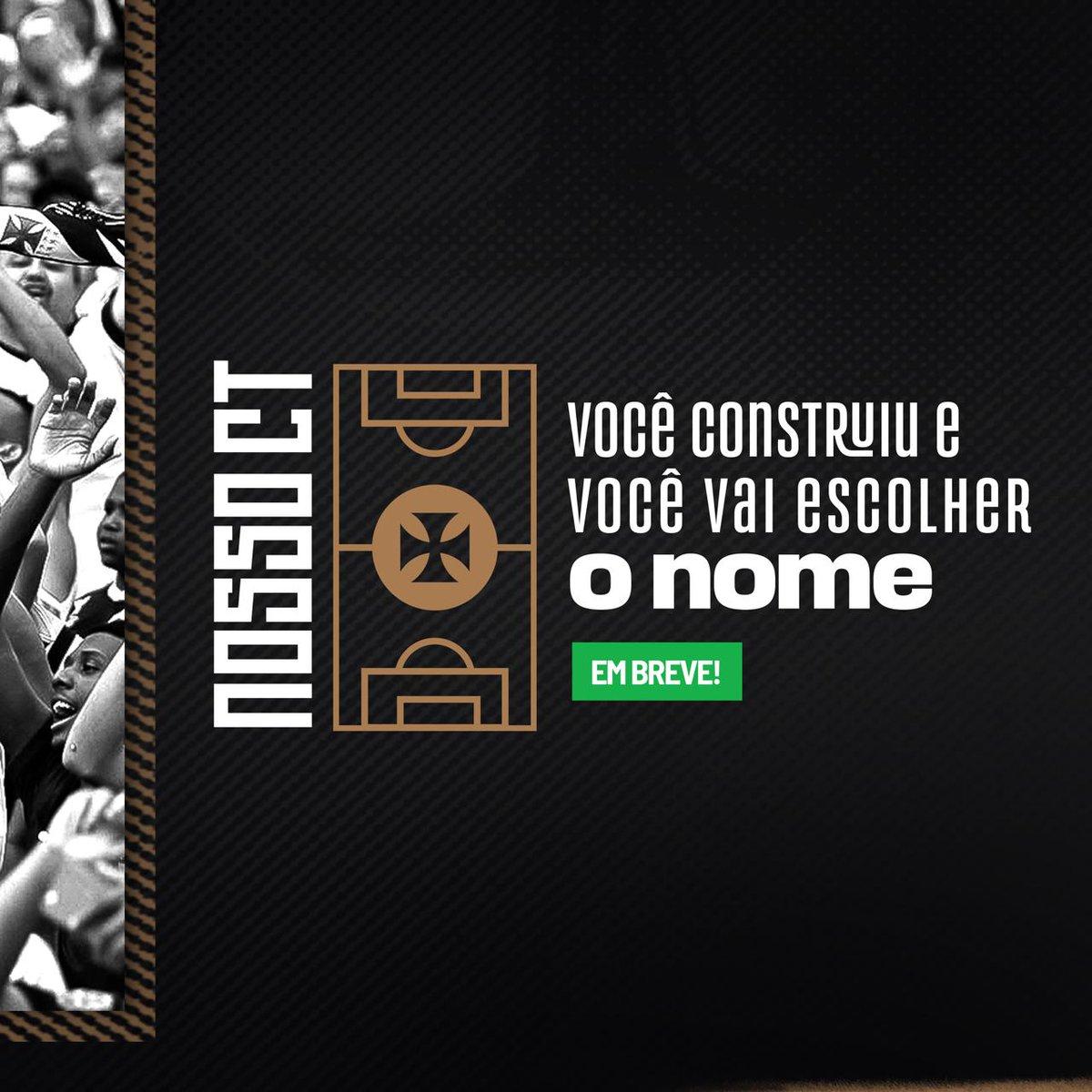 Vasco anuncia formato de campanha para torcida escolher o nome do CT.  👉🏽 https://t.co/HHmk02JO4H  #NossoCT https://t.co/6D7P5avBiW