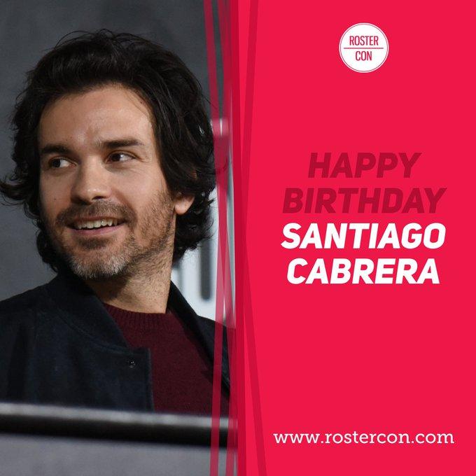 Happy Birthday Santiago Cabrera ! Souvenirs / Throwback :