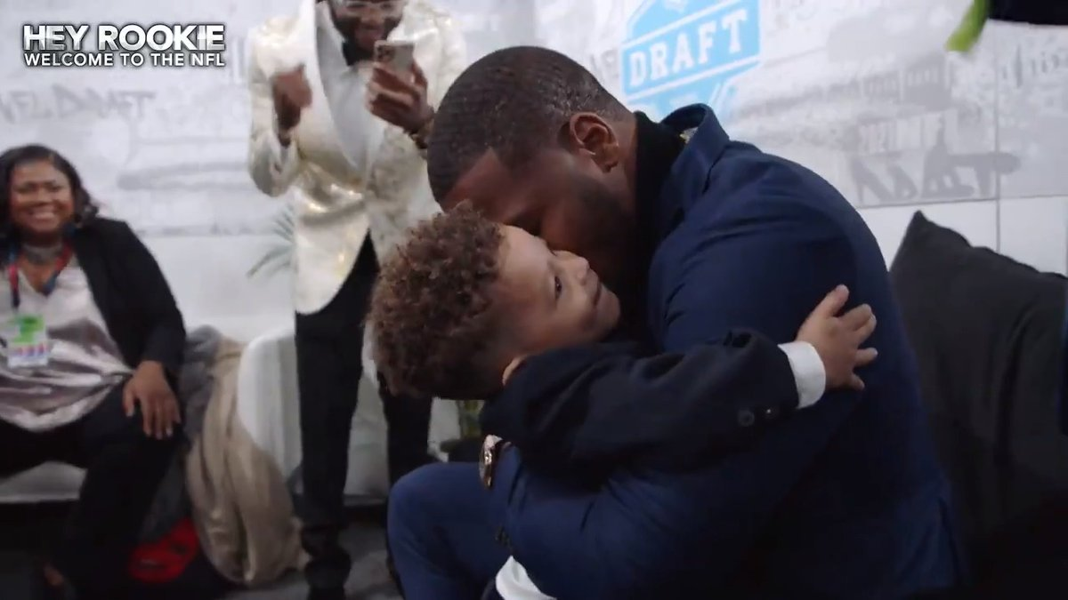 .@MicahhParsons11 has always dreamed of playing for the @dallascowboys.   His family's reaction will give you chills. (via @NFLFilms)   📺: Hey Rookie, Welcome to the NFL: TONIGHT at 8pm ET on ESPN2 https://t.co/GlPLWr06PB