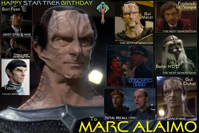 Happy birthday Marc Alaimo!
