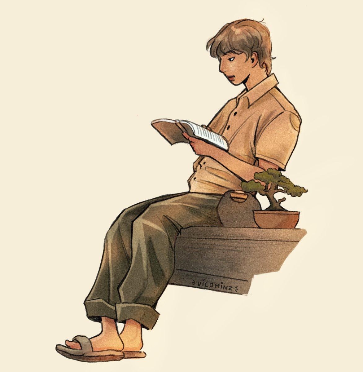 RT @vicominz: namjoon y su bonsai    #namjoon #btsfanart #illustration https://t.co/39OKppmoR1