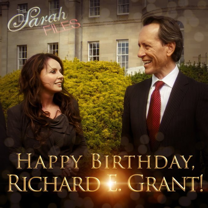 Happy Birthday, Richard E. Grant!
