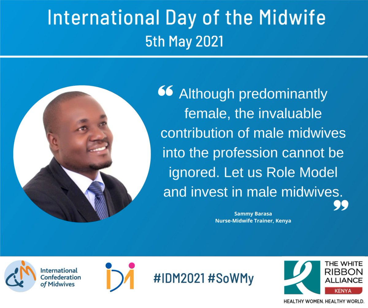 RT @WRA_K: #WhatMidwivesWant #WhatWomenWant  #IDM2021  @SamOnyapidi28 https://t.co/Fvb0vMVRul