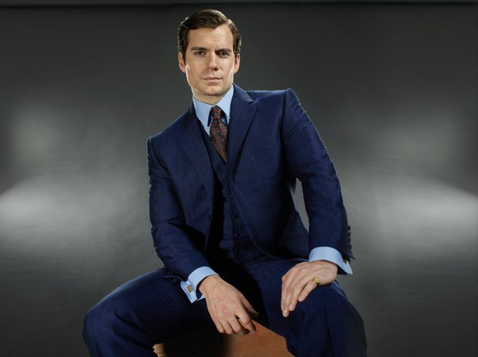 Happy birthday to our favorite thief-turned-secret agent, Henry Cavill. What\s your favorite Napoleon Solo scene?