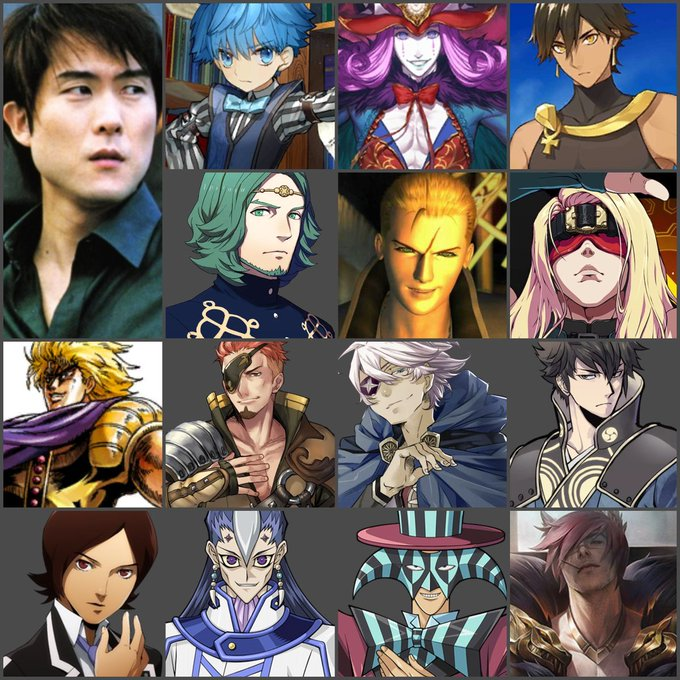 Happy 54th birthday to Takehito Koyasu! What\s your favorite role of his?