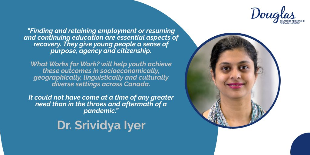 🎉Congrats to our fierce leader, Dr. Srividya Iyer, along with @DrJLHenderson @YWHOntario, & @skye_barbic @Foundrybc who have received an investment from @fsc_ccf_en to continue supporting #employment and #education intervention into integrated youth hubs ⤵️ #youthmentalhealth
