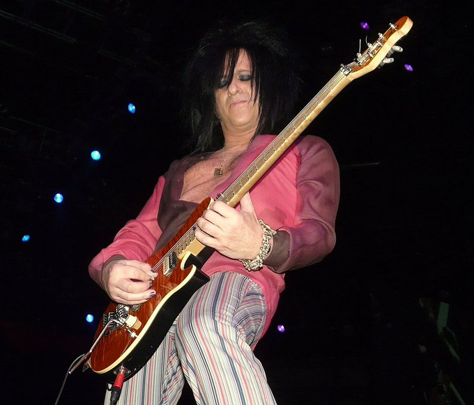 And a happy birthday to the great Steve Stevens!!!