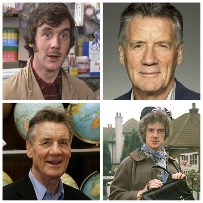 Forgot to say Happy Birthday to Sir Michael Palin who turned 78 yesterday!