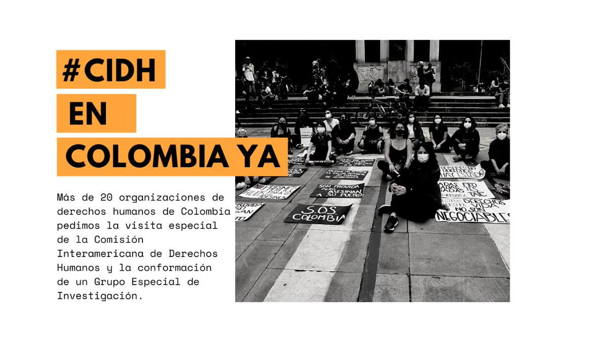 Inter Pares is deeply concerned over the escalating crisis in #Colombia. We support the urgent calls of our Colombian counterparts for the Inter-American Human Rights Commission to conduct an on-site visit to Colombia. @HumanasColombia #Humanrights https://t.co/wyiZhjGtOw