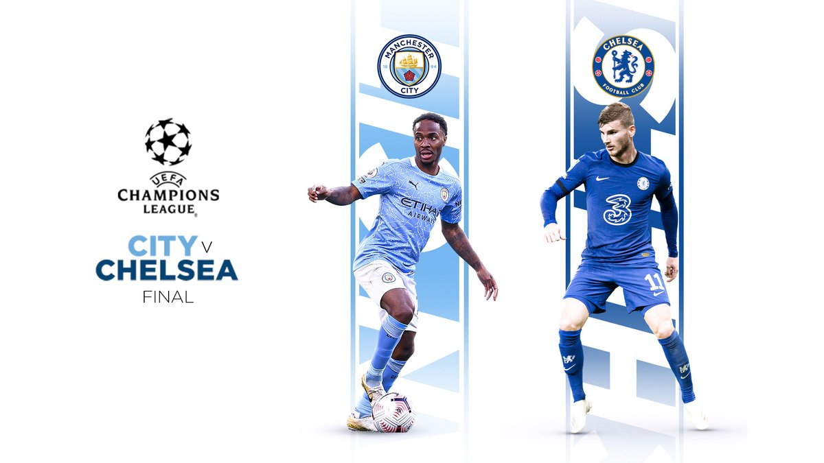 Manchester City On Twitter See You In The Ucl Final Chelseafc Mancity Https T Co Axa0kld5re
