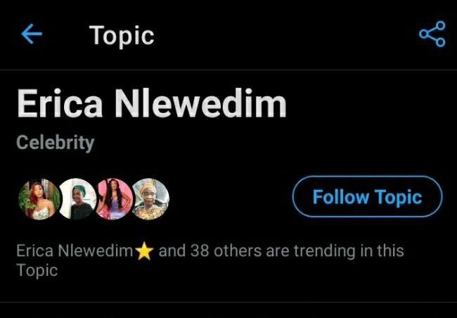 Are u seeing what I'm seeing? 💃💃💃   ERICA NLEWEDIM TWITTER TOPIC #EricaNlewedim https://t.co/E9ZBg4kV3y