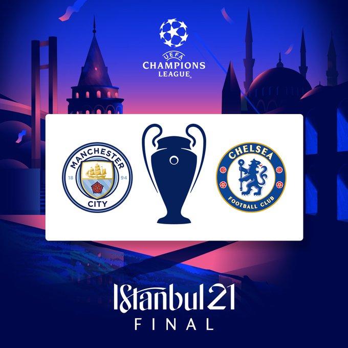 Duel Final Liga Champions Manchester City vs Chelsea di Istanbul, Turki, 30 Mei 2021 dinihari WIB