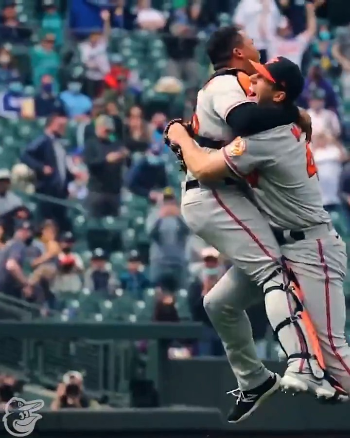 "So happy for @orioles on this great moment today.  Super glad my son was watching and alerted us at 5:57 p.m. to turn on the Orioles game because ""something big could happen, can't say what"".  As a former college pitcher, he knew better than to say it."