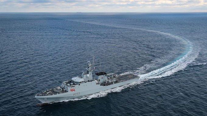UK sends Royal Navy to patrol Jersey port amid fishing row Photo