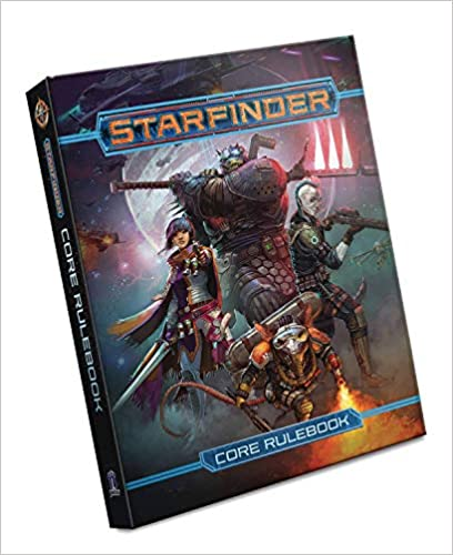 Starfinder Core Rulebook  43% off plus there's a $8.50 off coupon that stacks on top.