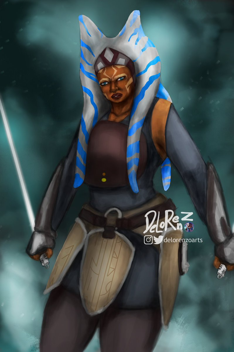 May The 4th Be with you. Ashoka Tano speed paint . . .   #fanart  #maythe4thbewithyou #sketch #art  #sciencefiction #digitalart  #illustration #artist #digitalpainting  #sketch  #scifi #digitalartist #characterdesign  #digitalillustration #digitaldrawing  #illustrator https://t.co/6uIW8z48jp