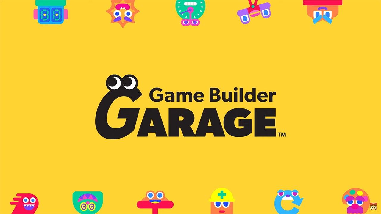Garage du constructeur de jeux