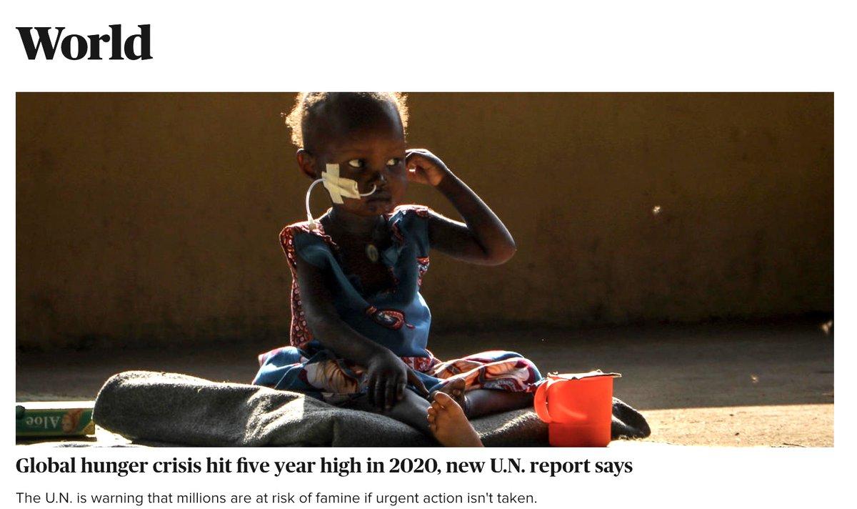 test Twitter Media - Global hunger crisis hit five year high @CBSNews @CBSNewsRadio @AntonioGuterres @USAmbUN @FAO @WFP @WFPChief @unicefchief @USAID @SamanthaJPower #CBSNews/World  https://t.co/YbGibi3jdZ https://t.co/CTmrGOBR4j