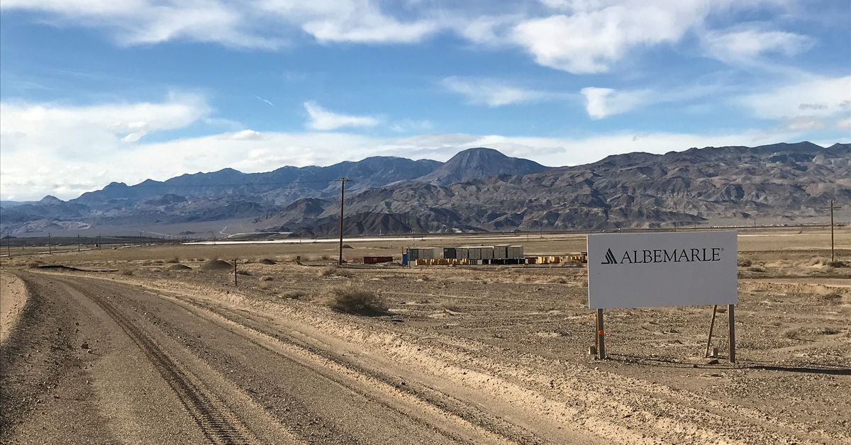 Albemarle profit beats expectations on rising lithium demand https://t.co/1DABQ4K6Lf https://t.co/hvZl1fonev