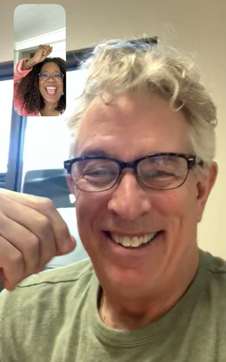 Thank you to my co-author Dr. @BDPerry for over 30 years of conversations that led to this book. (This is us celebrating our #1 over FaceTime!) Thank you to YOU for sharing your stories of what happened to you. I hope that after you read this book, you not only fly, but soar.