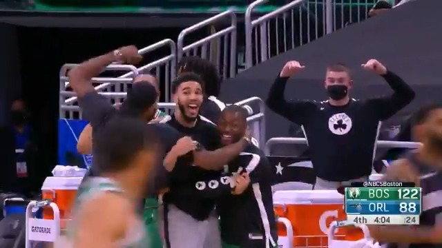 Tacko goes to work in the post! https://t.co/l7tkmgbJA4