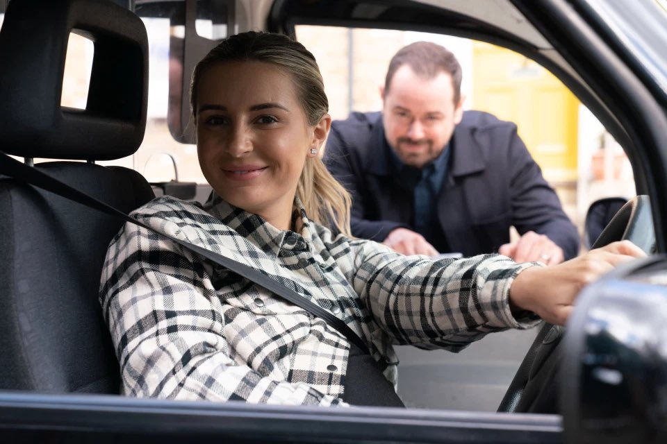 Dani Dyer is joining Eastenders as a cabbie. Would you Adam n Eve it ? https://t.co/5gtxgDgdOA