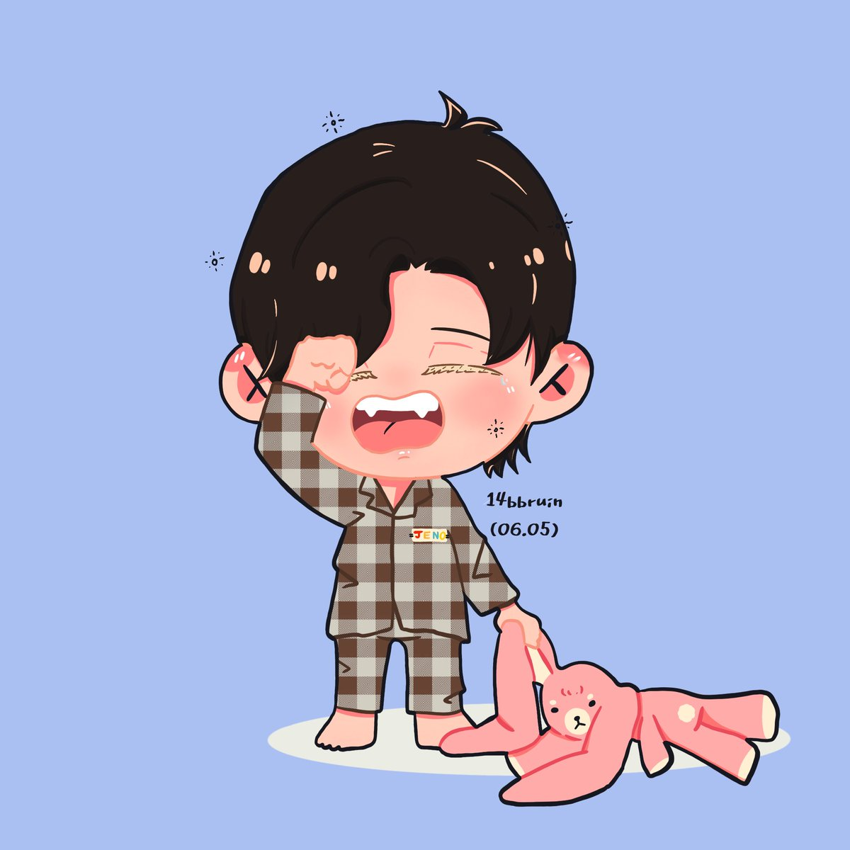 In the morning ☀️ : 🛌🧸  ( #เจโน่ #JENO #제노 #FANARTnct ) https://t.co/qfFhmAgBq2