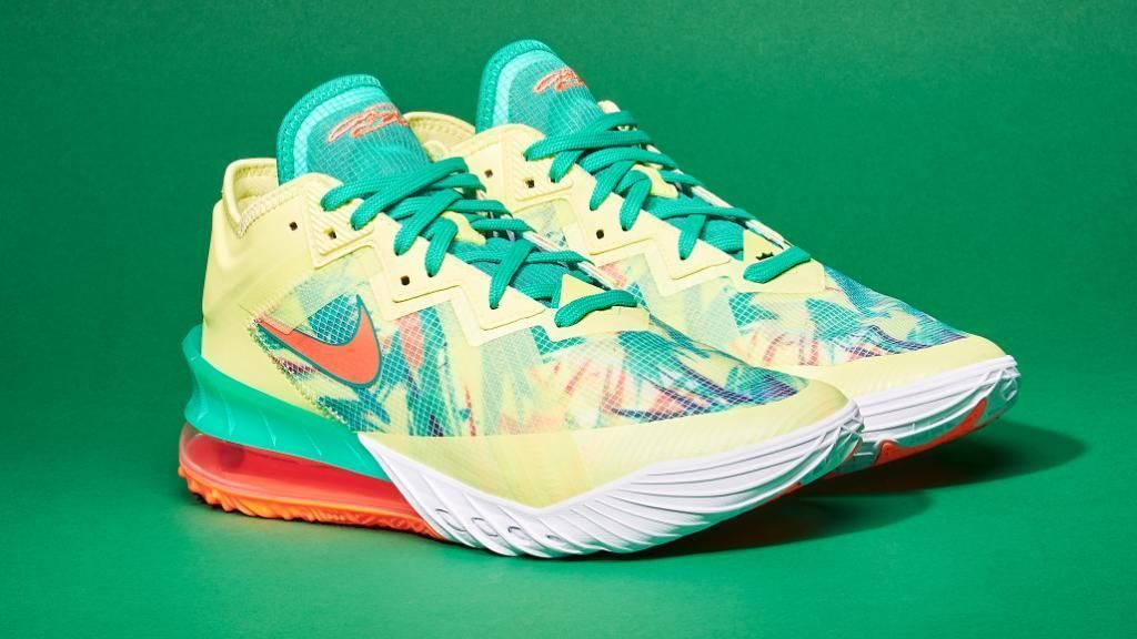 Still available on FTL Nike LeBron 18 'LeBronold Palmer' =    Sold out on other sites