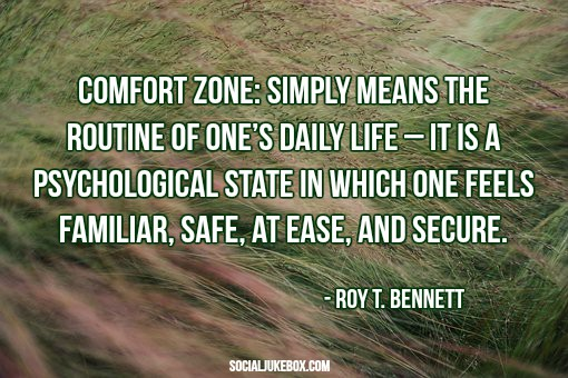test Twitter Media - Comfort zone: simply means the routine of one's daily life – it is a psychological state in which one feels...― Roy T. Bennett #quote #thursdaythoughts https://t.co/pLGYTCYnf7