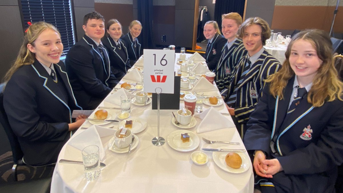 CGS senior students George, Nick, Mia, Isabella, Olivia, Hannah and Darcy attended the Women in Economics presentation at the National Press Club Hannah asked the panel a question about govt policy, superannuation and closing the gender gap.  Not an easy feat on national TV!