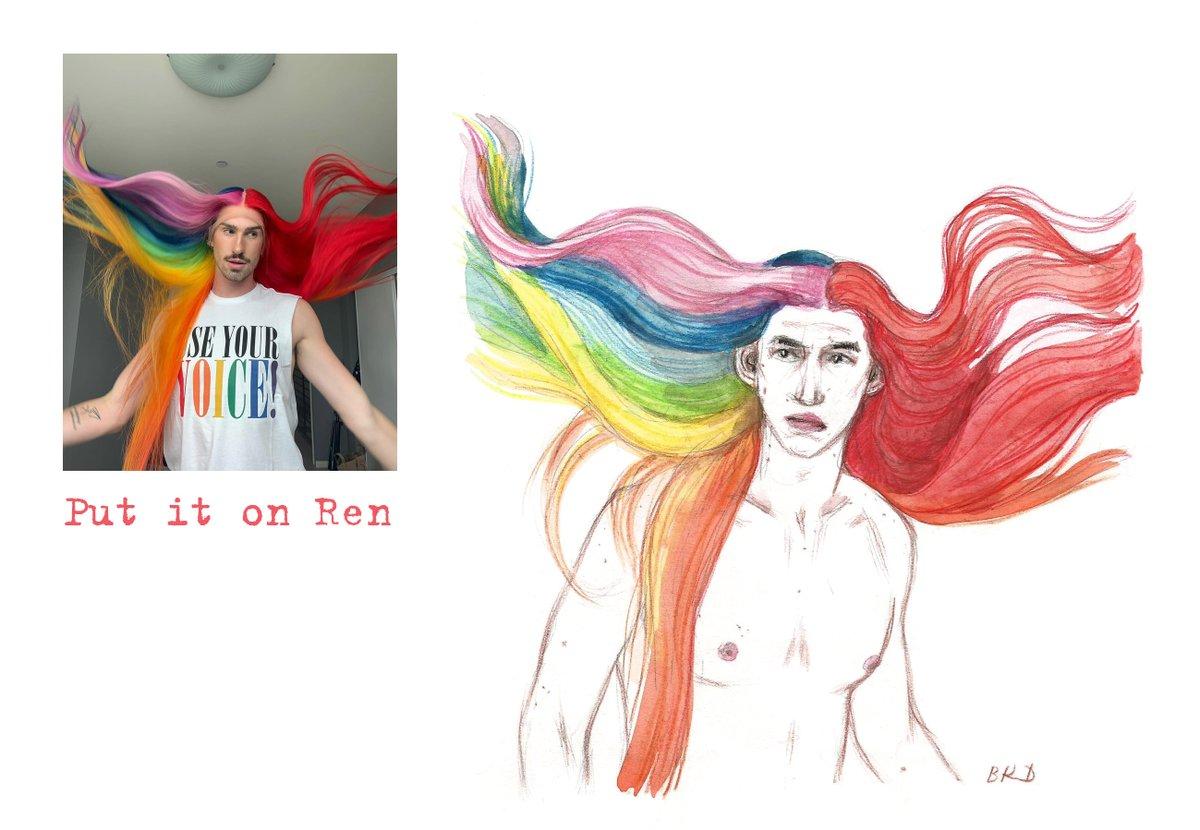 RT @blackkingsdream: Put it on Ren #Kylux #KyloRen #myart https://t.co/LaelIhHTS1