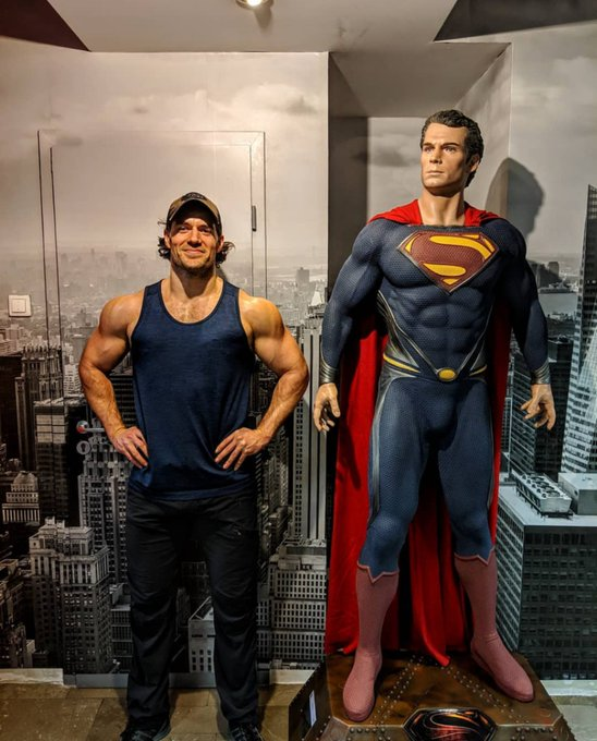 Happy birthday to the best Superman ever Henry Cavill