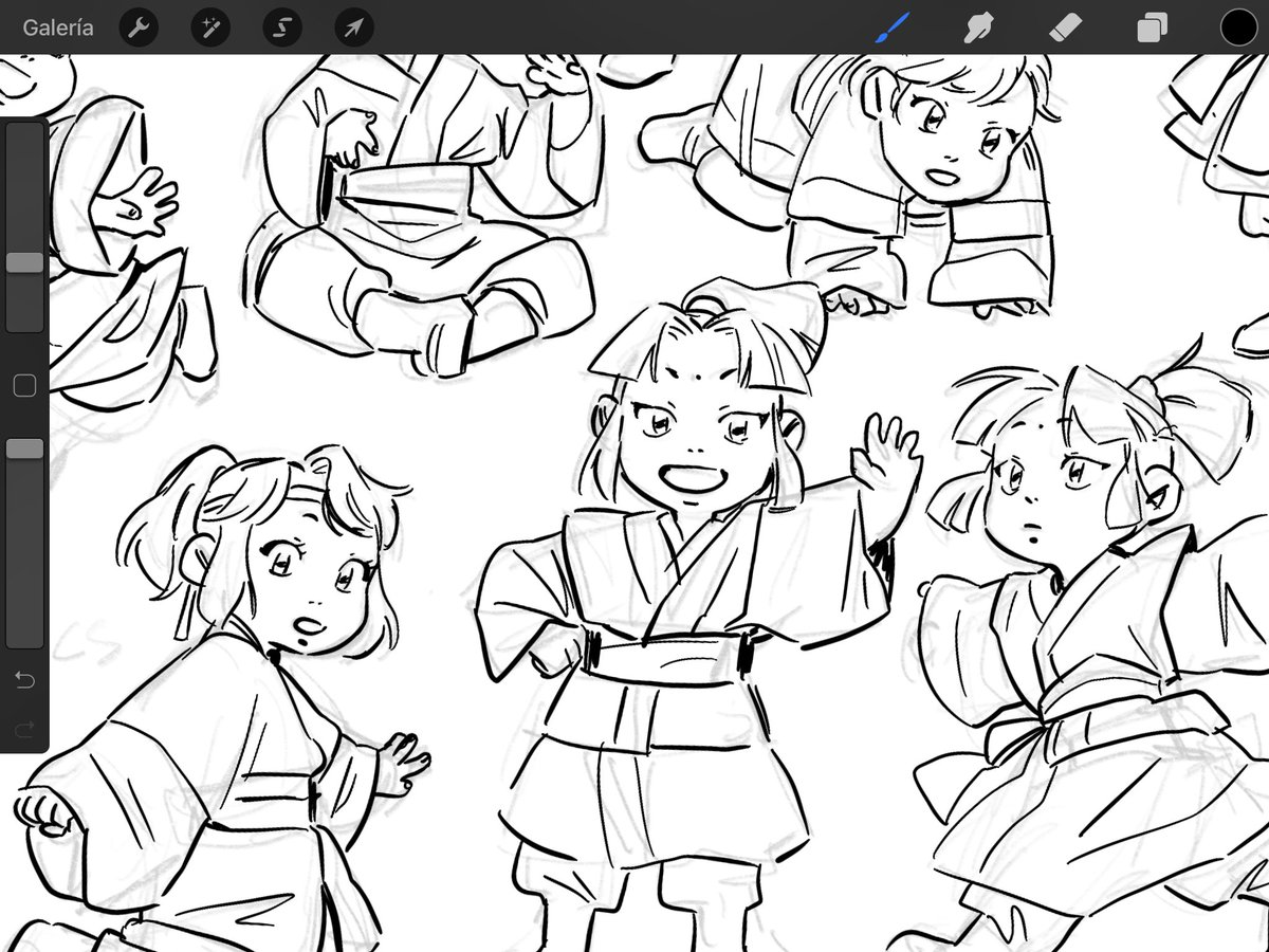 RT @_SilMartin: i drew some baby juniors to try to cheer myself up 😞 #wip #wipwednesday https://t.co/mRycTMNg4C
