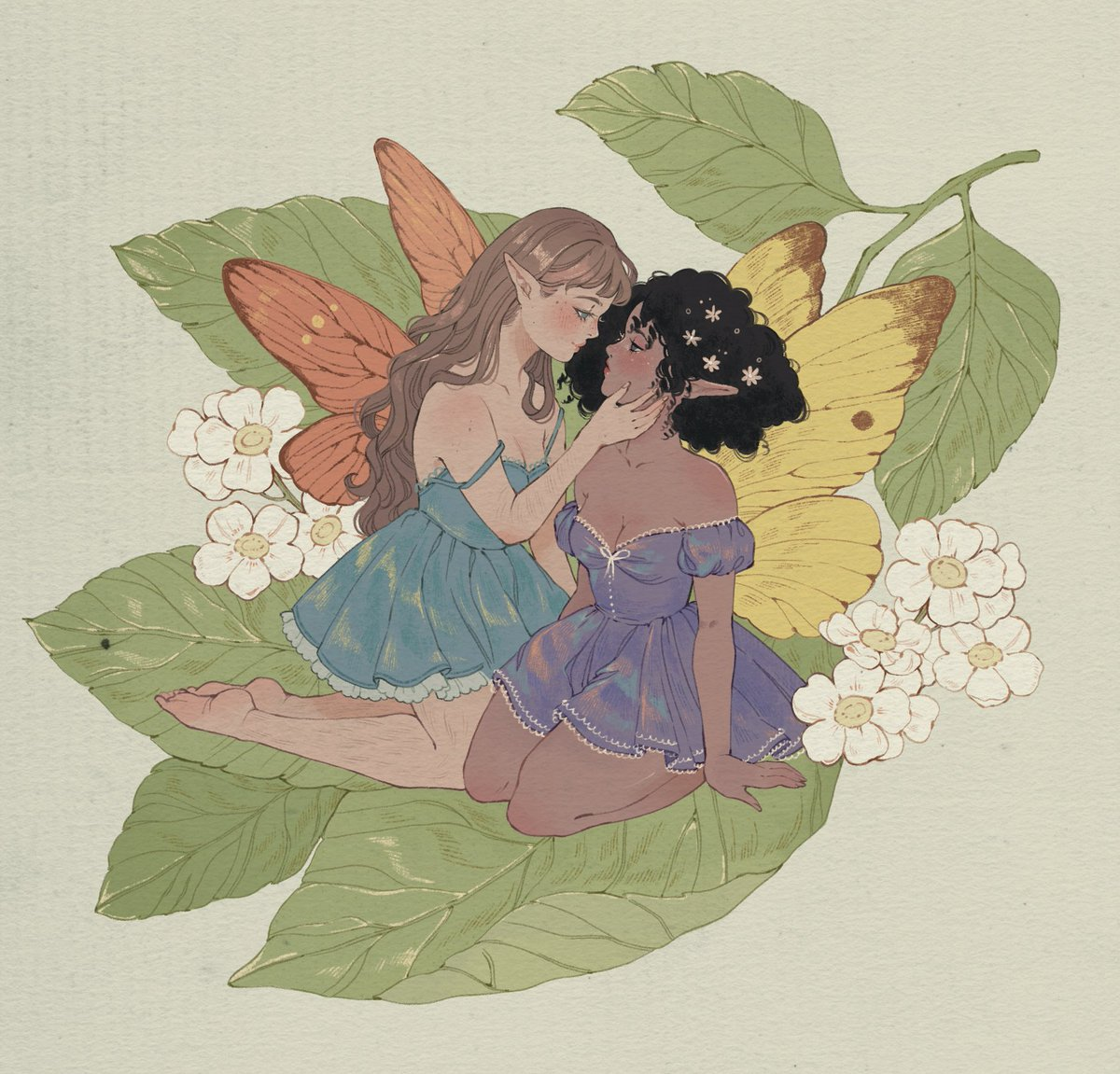 RT @Karlovycross: No more twitter crop to hide my lovely lesbian fairies 🌷✨ https://t.co/dMI5NUpoIC