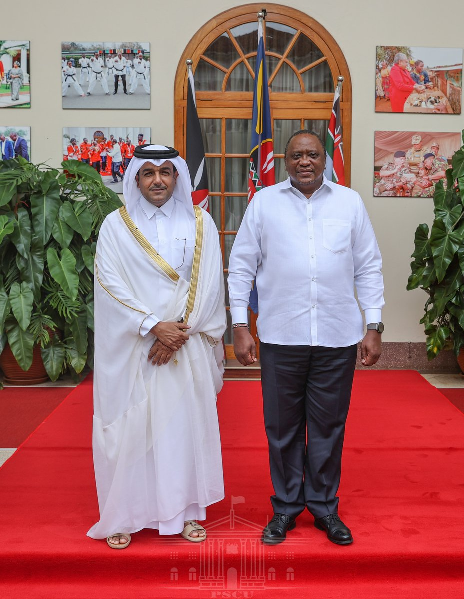 """State House Kenya on Twitter: """"2/2 The Amir's message was delivered to the President by Dr Mutlaq bin Majed Al-Qahtani, who is the Special Envoy of the Foreign Minister of the State"""