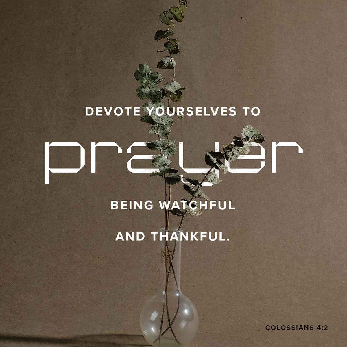 Devote yourselves to prayer with an alert mind and a thankful heart. Colossians 4:2 NLT  https://t.co/AjdOpExC43 https://t.co/6F8F1DrCTT