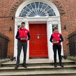 Image for the Tweet beginning: Roan O'Halloran and Cathal Lynch