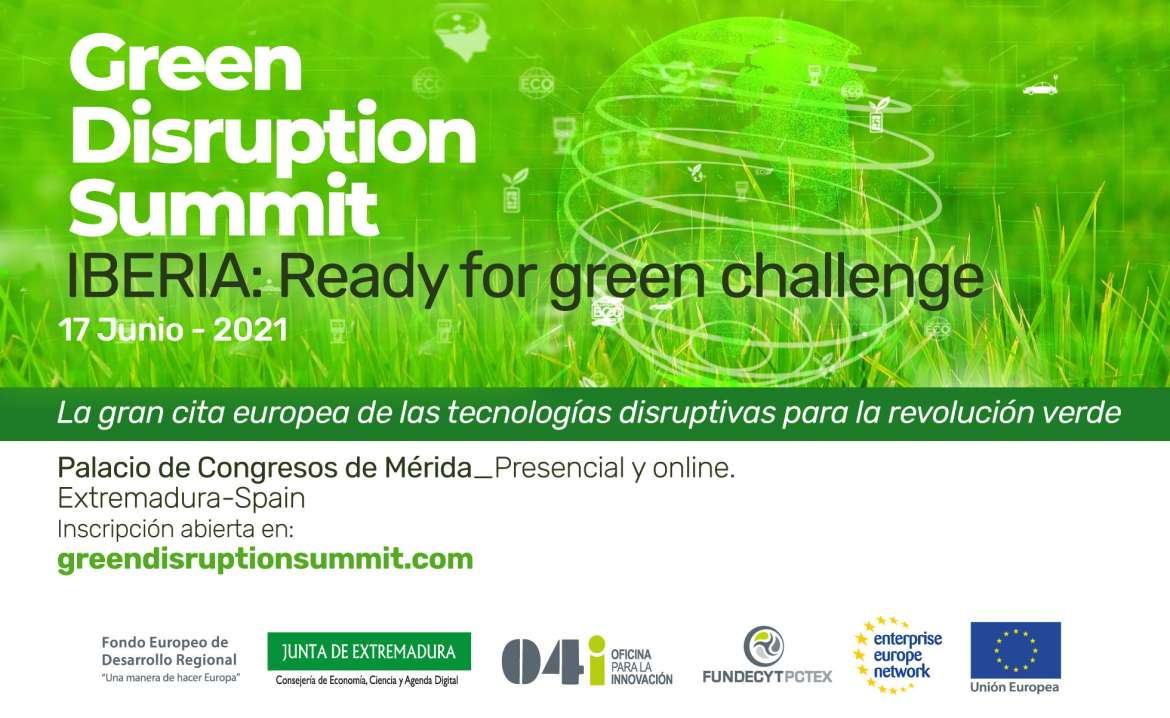Join the #Green Disruption Summit: #European event for green transition ⬇️⬇️⬇️