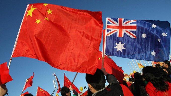 China suspends key economic dialogue with Australia Photo
