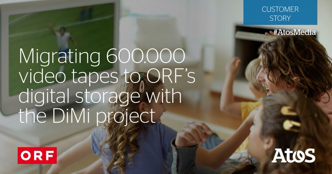 [#AtosMedia]The content transferred for @ORF is already benefiting makers and scientist: - Loa...