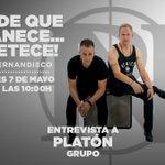 Image for the Tweet beginning: El dúo Platón regresan con
