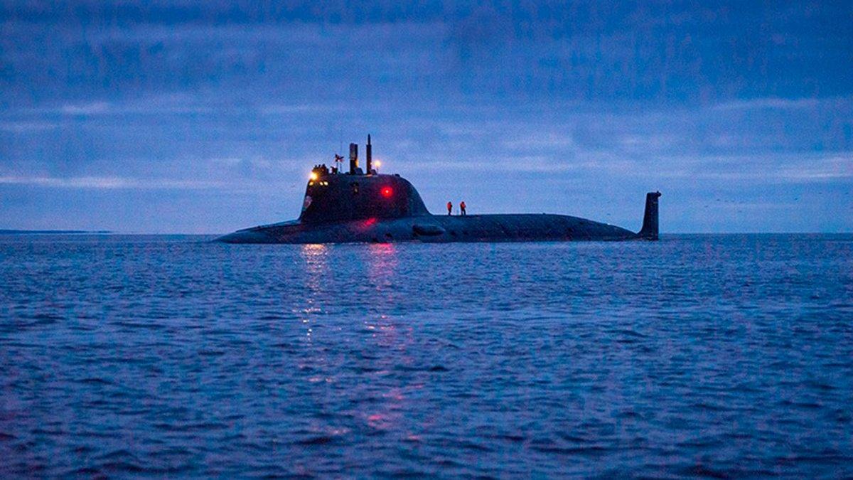 АПЛ `Казань` вошла в состав ВМФ РФ