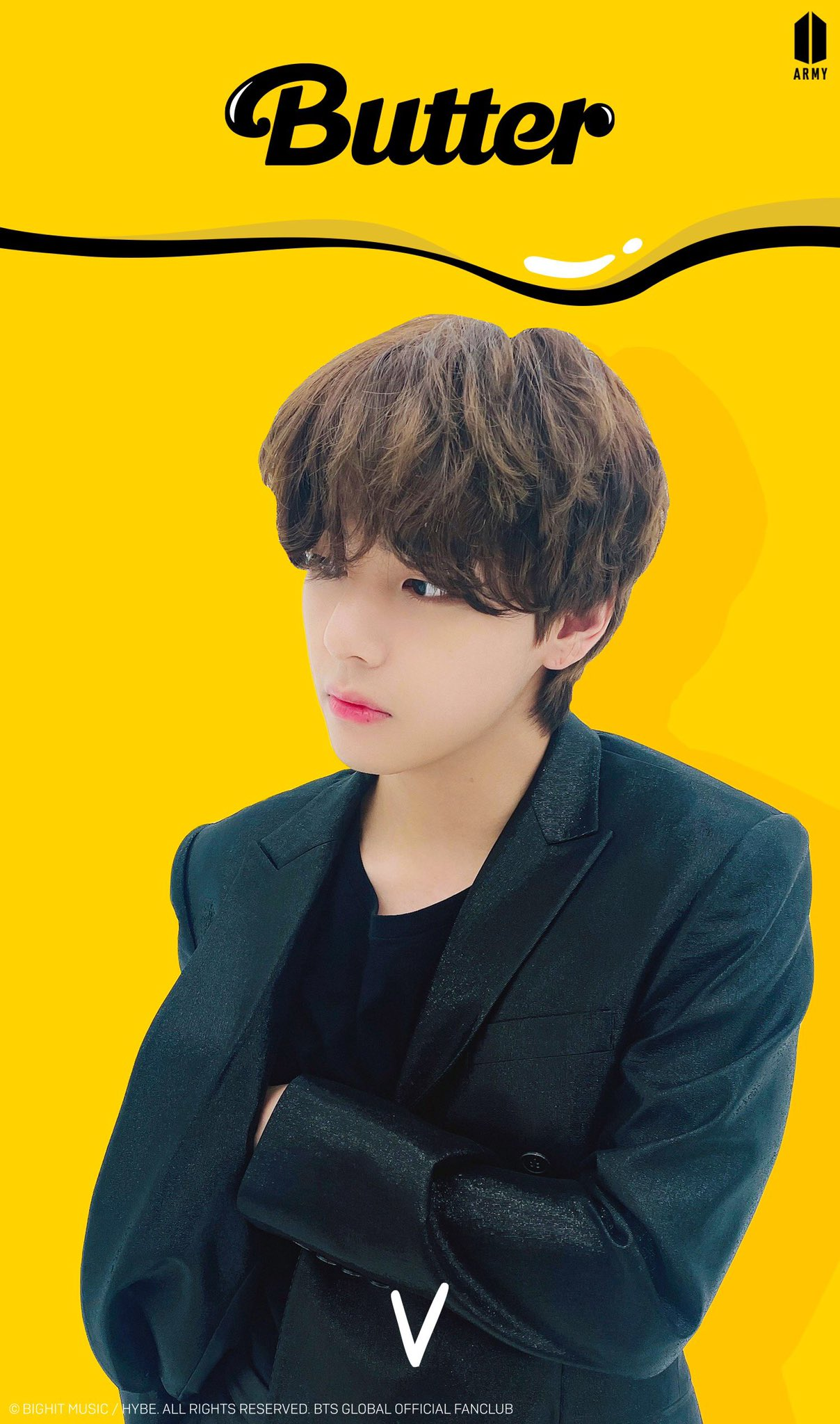 Awesome Kim Taehyung Butter Hair wallpapers to download for free greenvirals